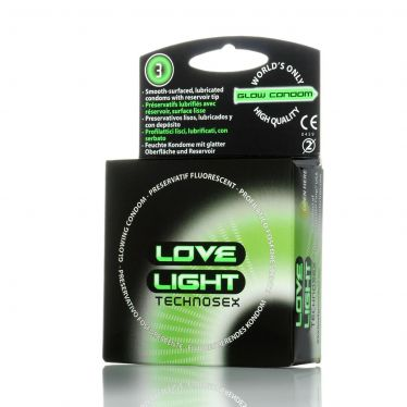 Love Light Glow in the dark Condom x144